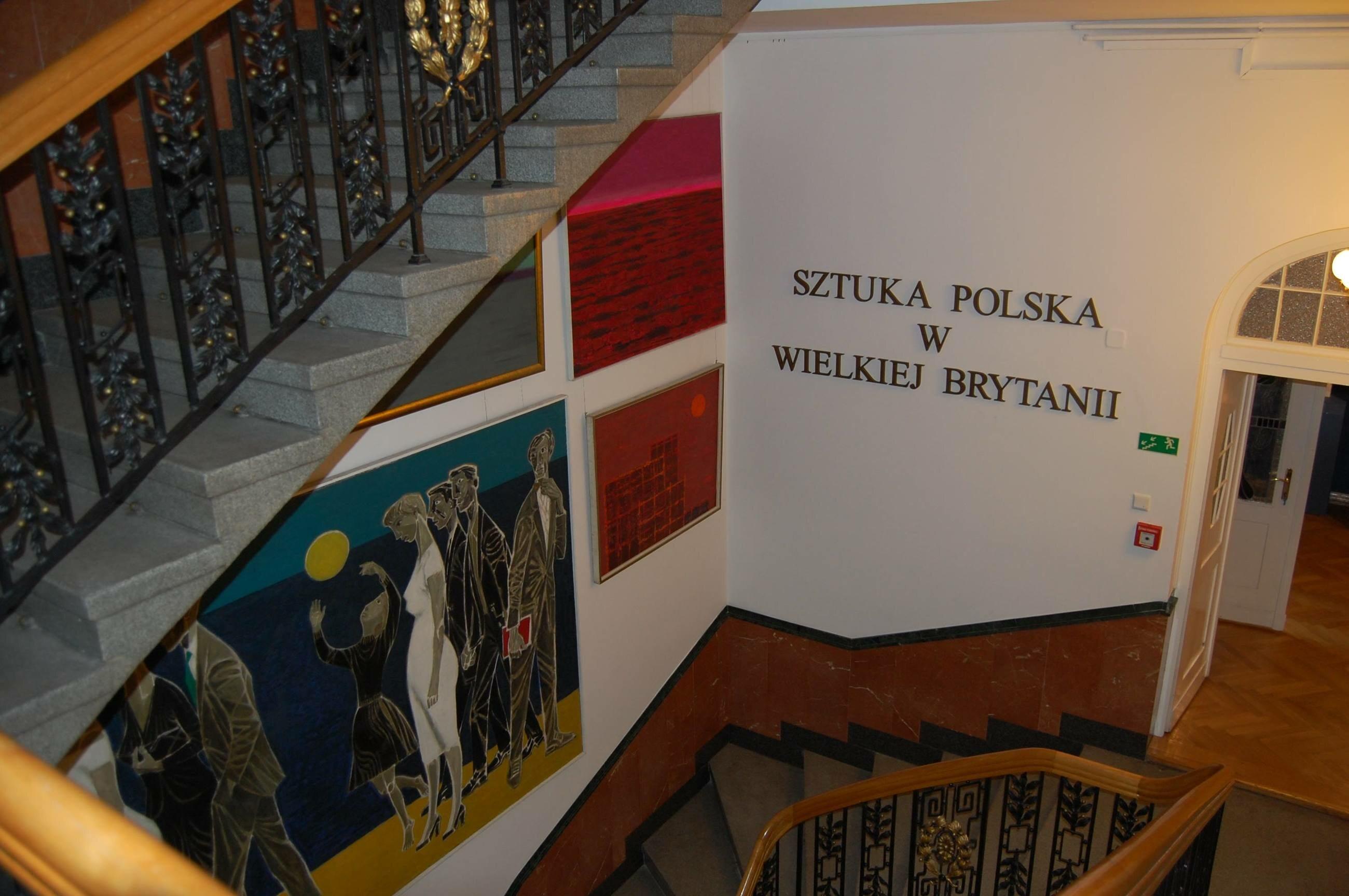 9 WSPANIAŁYCH: Sztuka polska w Wielkiej Brytanii w XX wieku/ fot. Prof. Mirosław Supruniuk