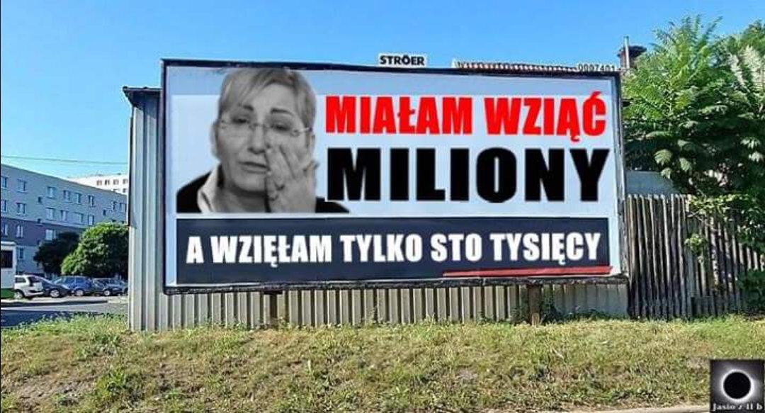 Akcja billboardowa PO - memy