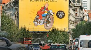 Bruksela Śladami Tintina