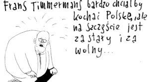 Timmermans chciałby kochać Polskę