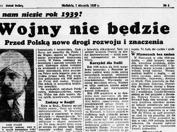 Wojna z Niemcami w polskiej prasie