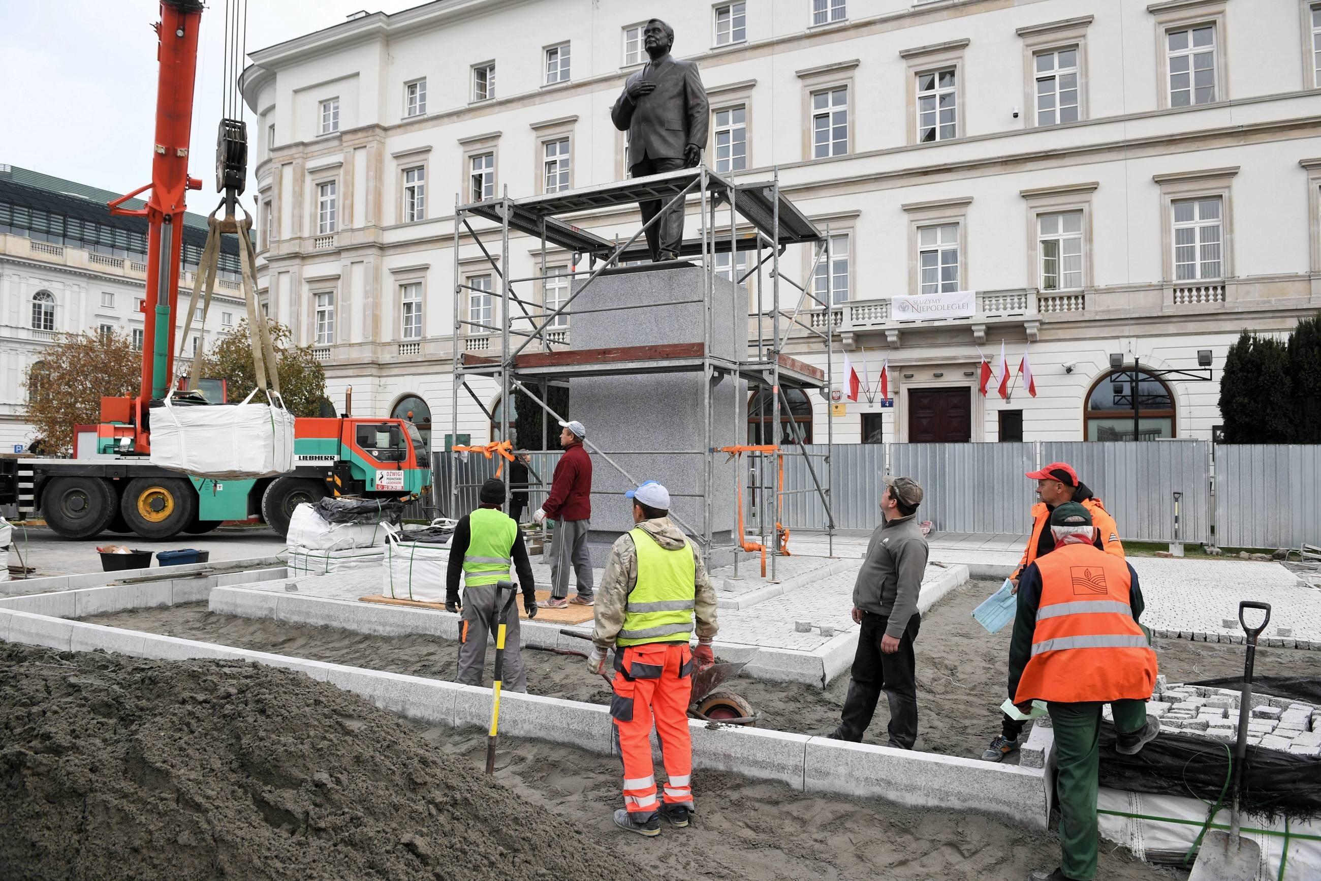 Pomnik Lecha Kaczyńskiego